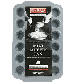 24 Cup Mini Muffin Pan | Heritage Collection | Wilkinson 1888