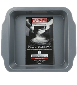 8 Inch Square Cake Pan | Heritage Collection | Wilkinson 1888