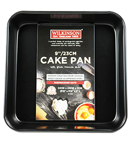 9 Inch Square Cake Pan | Classic Collection | Wilkinson 1888