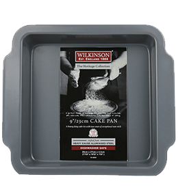 9 Inch Square Cake Pan | Heritage Collection | Wilkinson 1888