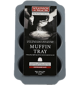 6 Cup Jumbo Muffin Tray | Heritage Collection | Wilkinson 1888