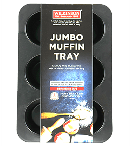 Jumbo 6 Cup Muffin Pan | Classic Collection | Wilkinson 1888